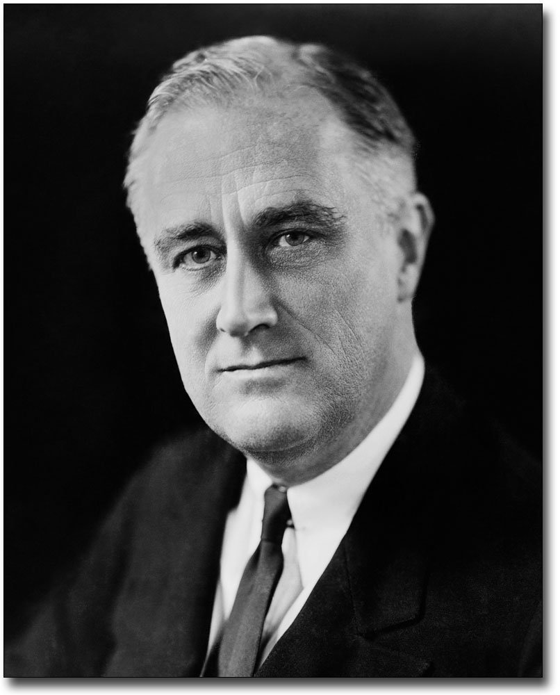 President Franklin Delano Roosevelt 1933 8x10 Silver Halide Photo Print