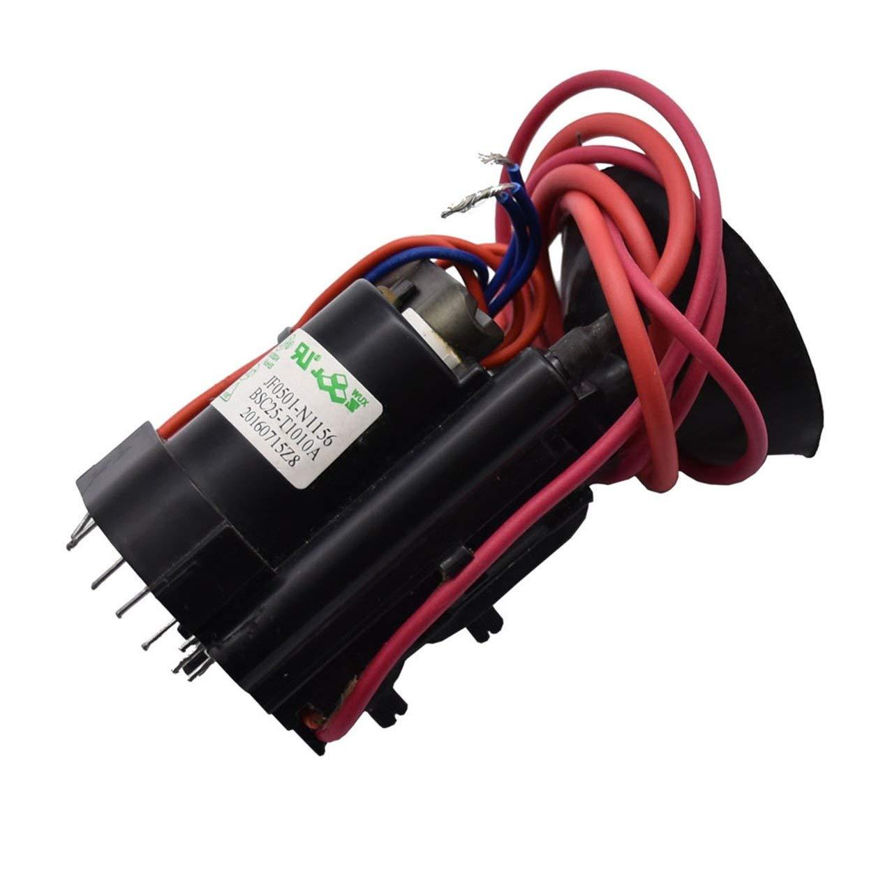 Nullspannungsschalt-Tesla-Spulen-Flyback-Treiber f/ür Sgtc//Marx-Generator//Jacob-Leiter Schwarz Z/ündspule
