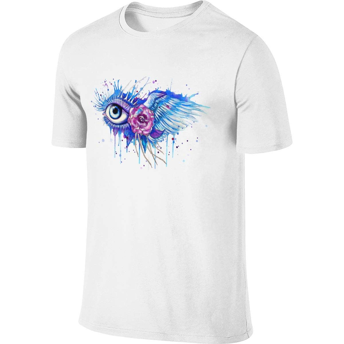 Matreus Design Breathable Top I Can See Heaven T Shirt for Mens