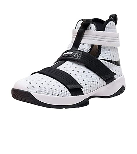 best service aca55 066ed Nike Lebron Soldier 10 Gs Kids 845121-100 (1Y): Amazon.ca ...