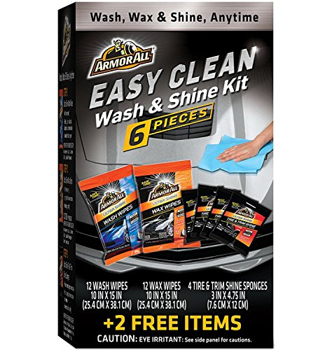 Armor All Complete Waterless Wash & Shine Kit, 8 Items