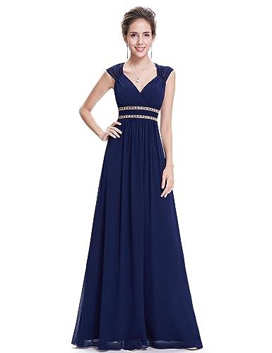 Ever Pretty Women's Sleeveless Grecian Style Prom Dress 08697