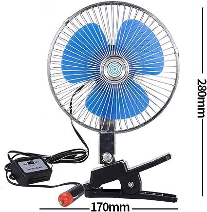 Ventilador de coche 12 V 24 V Volt ventilador de automóvil gran ...