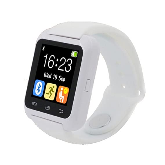Moderno reloj de pulsera inteligente digital con Bluetooth y Android, negro: Amazon.es: Relojes