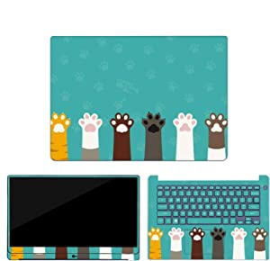 """Marble Grain Laptop Skin Stickers Compatible for Dell G3 G5 G7 Vinyl Decal Notebook Sticker Compatible for Dell 3579 3590 7590 15.6"""" 14"""" Cover,Compatible for Dell 3579,12"""