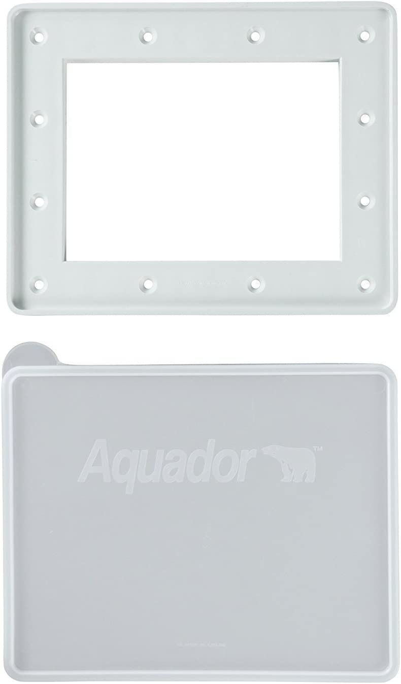 Aquador 1084 Swimming Pool Winter In-Ground Skimmer Cover Plate Fits Hayward