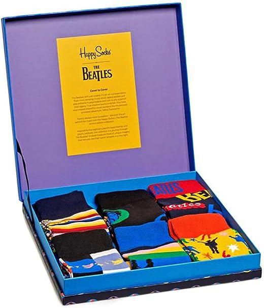 Happy Socks 6-pack De Los Beatles Lp Coleccionistas Calcetines ...