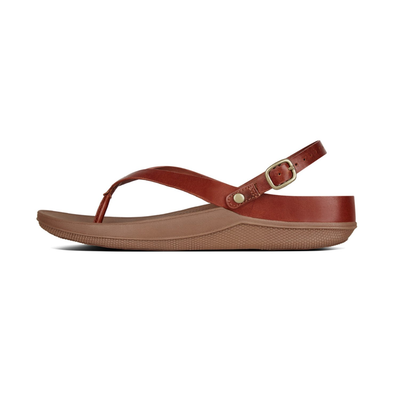 FitFlop Damen Flip TM Sandale Leder Sandale TM Zehentrenner, 8a2129
