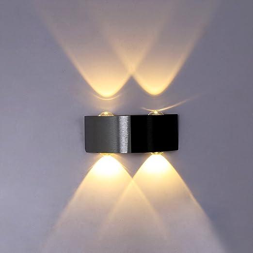 Apliques de pared Moderno 12W LED luces de pared de aluminio Impermeable IP65 Lamparas para Dormitorios