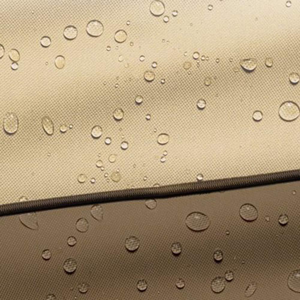 Cubierta De Muebles Funda Muebles, Funda Para Muebles De Adecuado Jardín Cubierta De Lluvia Marrón Oxford, Adecuado De Para Mesas Y Sillas Al Aire Libre / Sofá / Barbacoa / Barbacoa / Horno,Marrón,6585114Cm 21c67d