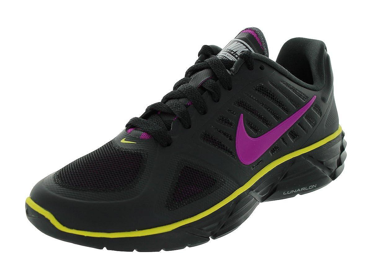 new style 3adad a56b7 Amazon.com | Nike Women's WMNS LUNAR SWEET VICTORY II+ RUNNING SHOES 9  (BLACK/VVD GRP/ANTHRCT/SNC YLLW) | Road Running