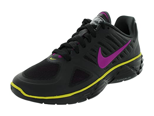 Nike Women's NIKE WMNS LUNAR SWEET VICTORY II+ RUNNING SHOES 9 (BLACK/VVD  GRP
