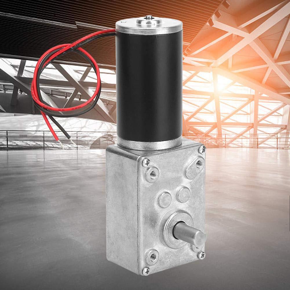 Il motoriduttore a vite senza fine lalta velocit/à di torsione 24V riduce lasse reversibile del motore 8mm dellingranaggio a vite senza fine del cambio elettrico 150RPM