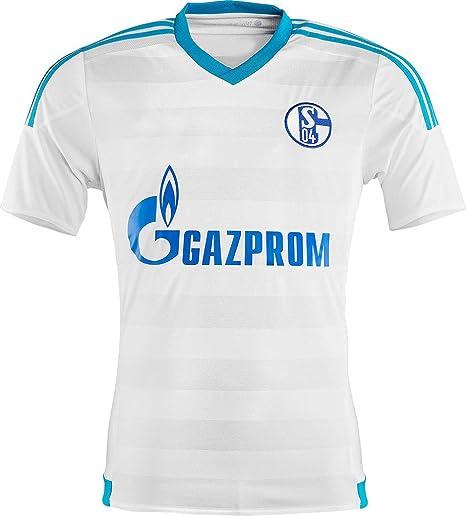 2016 2017 Schalke 04 Camiseta de DIY Nombre y número de fútbol Fútbol Jersey de Flores