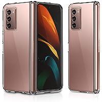 for Samsung Galaxy Z Fold 2 Case (2020) Slim Thin Designed Hybrid Clear Hard Back Case Cover Genuine 100% VVUPIC Brand