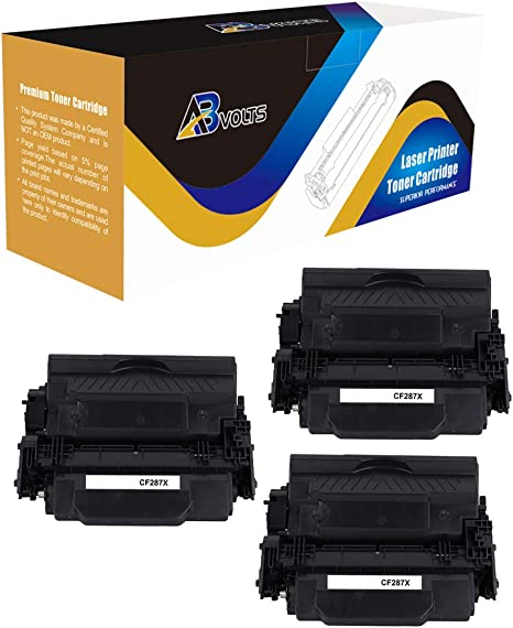 Compatible 2PK CF287X Toner Cartridge For LaserJet Enterprise Flow MFP M527Z