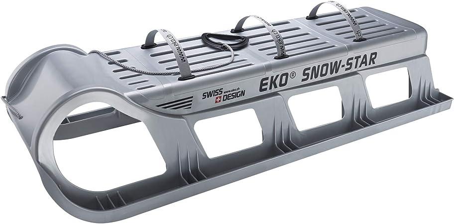 TikTakToo EKO Snow-Star 120 mit Verst/ärkung in anthrazit schwarz grau