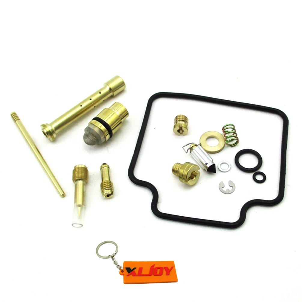 XLJOY Carburetor Rebuild Kit for Suzuki Quadrunner 500 LT-F500F 1998-2002 Carb Repair