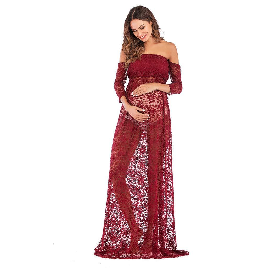 70830dd8a9c Maternity Off Shoulder Maxi Dress