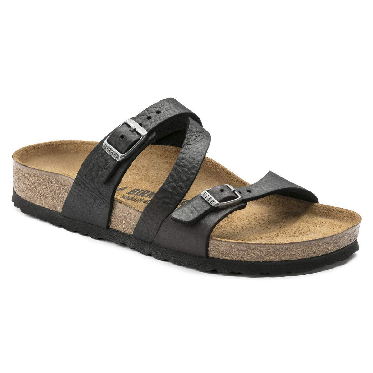 70736548f1b9 Birkenstock Womens Salina Leather Sandals  Amazon.co.uk  Shoes   Bags