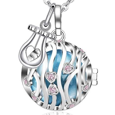 💗 MAMAE - Bola Embarazo Collar Colgante Joya Musical ...