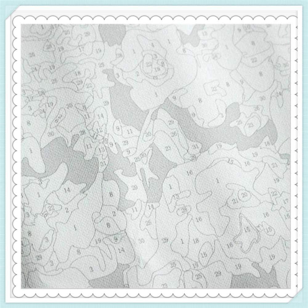 Nouvelle peinture par num/éros pour adultes enfants bricolage peinture num/érique par num/éros Kits sur toile Yorkshire terrier animal chien animal