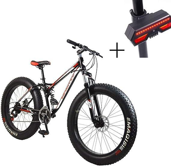 Huoduoduo Bicicleta, Bicicleta De Montaña, 26 Pulgadas De 21 De ...