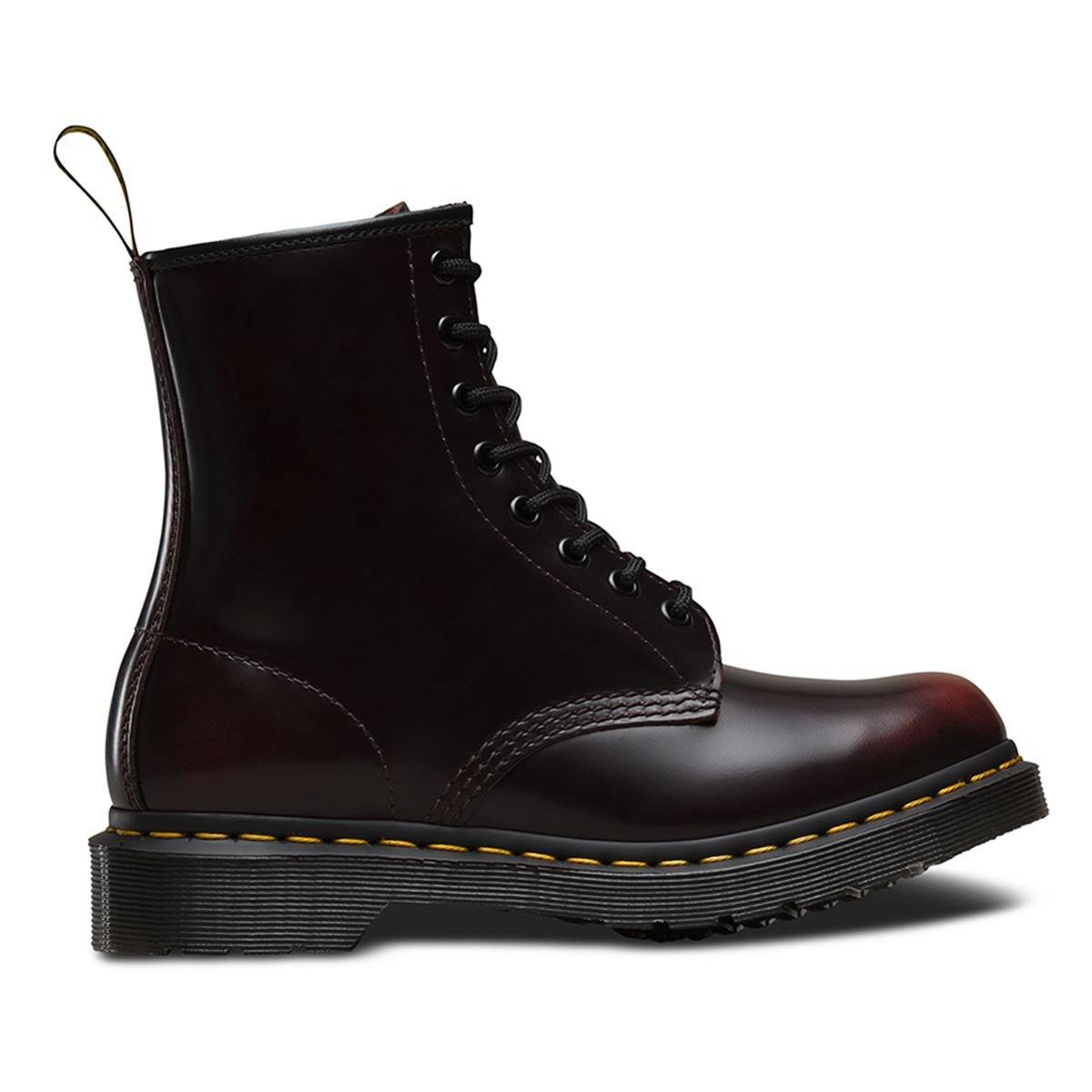 Dr. Martens Men's 1460 Combat Boot, 8.5 B(M) US Women/7.5 D(M) US Men B01MYBGLTP 8.5 B(M) US|Red