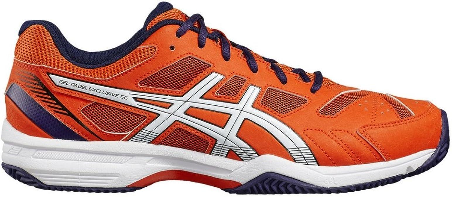 Zapatilla padel hombre Asics Gel-Padel Exclusive 4 SG (44.5 EU): Amazon.es: Zapatos y complementos