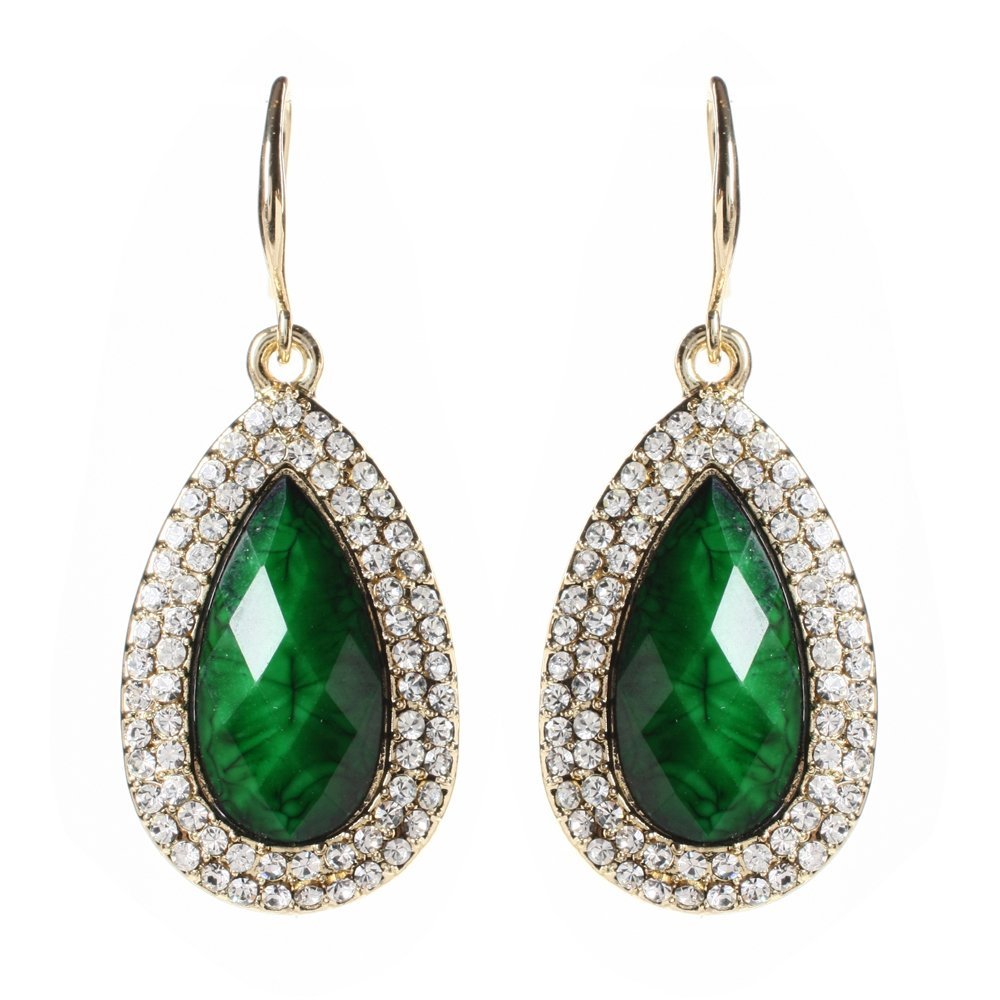 Amrita Singh Culver Drop Earring Evergreen