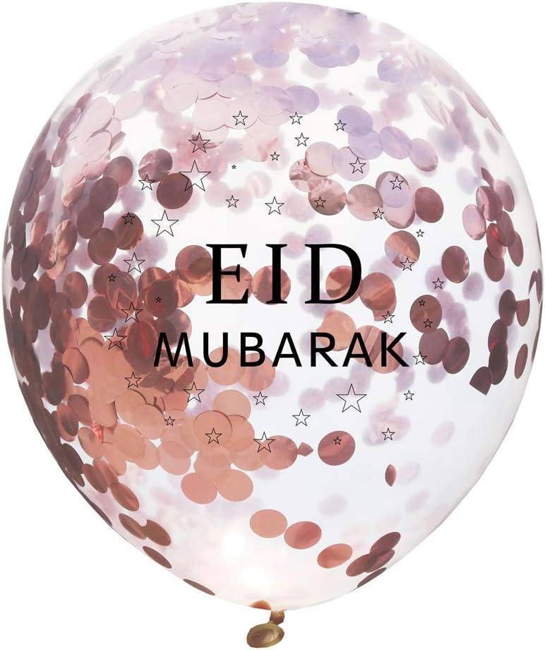 Festival Decoration Inflatable Toys Party Event Decor Eid Mubarak Balloons