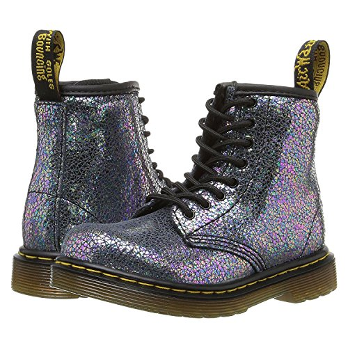Dr. Martens Girls' Brooklee Ie-K, Grey, 8 UK(9 M US Infant)