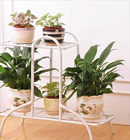 4e1f280c37c43 Amazon.com : IRVING Metal Stand for plantsWrought Iron Flower Stand ...