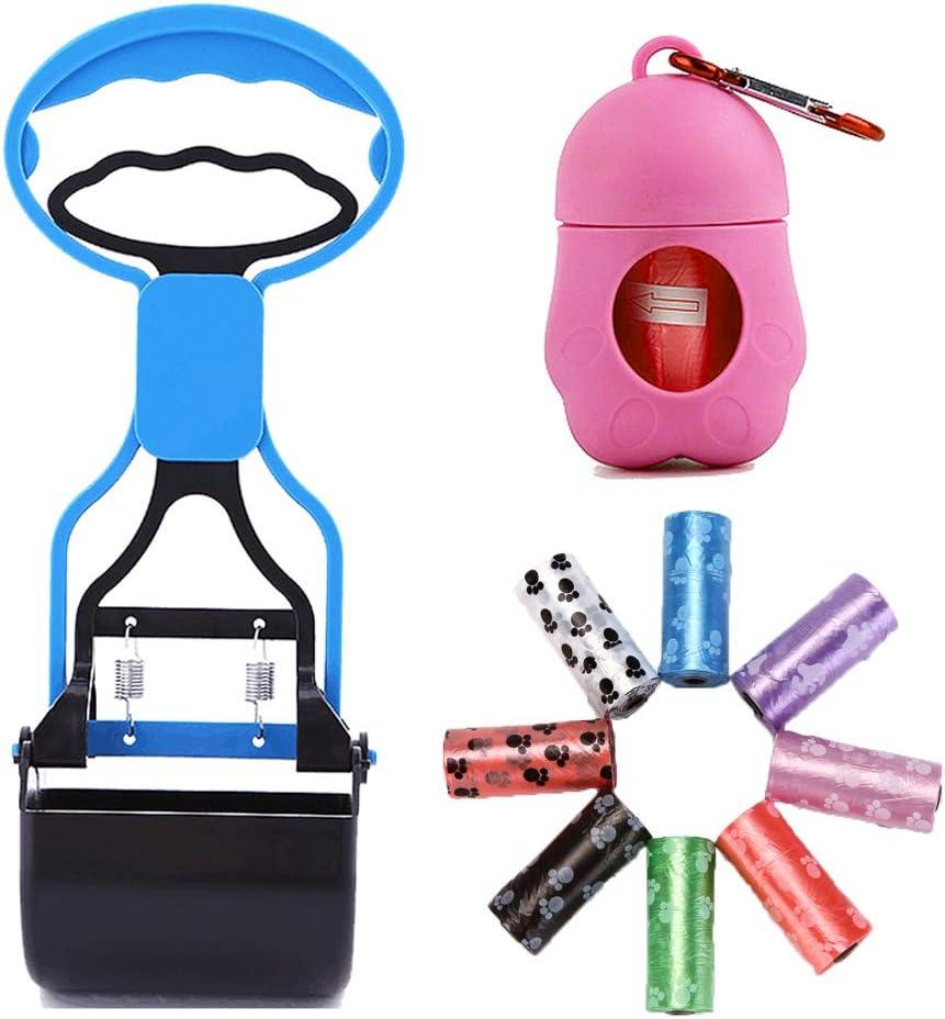 BabyHomder Pooper Scooper with Dog Dispenser Waste Bags (9 roll)