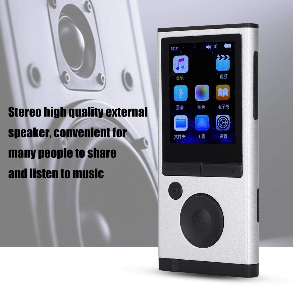 MP3 Player, 1.8 inch TFT Portable HiFi Digital Music Audio MP3 Player Support FM Radio, Voice Recording, 32GB TF Card with Earphone Wearable Music Player for Sports, Travel, etc. by Ciglow (Image #3)