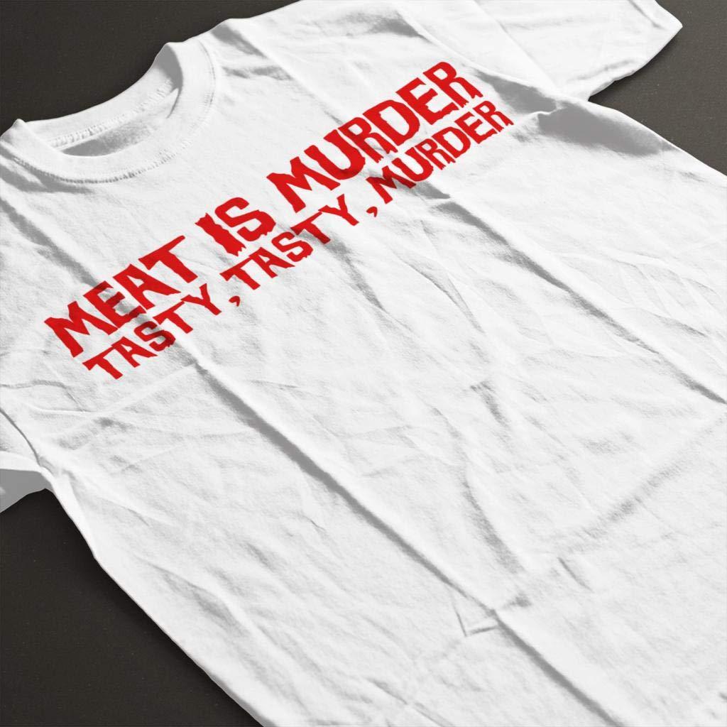 Coto7 Carnivore Meat is Murder Tasty Tasty Murder Kids T-Shirt