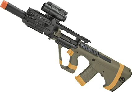 Amazon com : Evike ASG Licensed Steyr AUG A3 MP Full Metal Gearbox