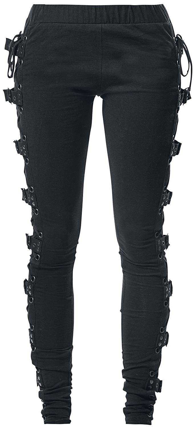 Gothicana by EMP Built for Comfort Leggings schwarz Waliant Leather Industries