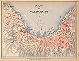 Mapa No. 15. Provincia de Valparaiso., 1903 | Historic Antique Vintage Map Reprint