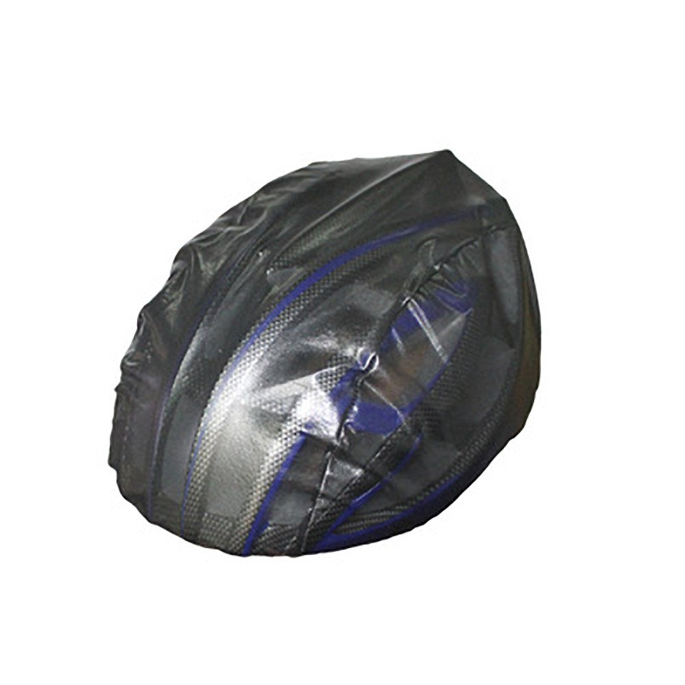 Bike Helmet Rain Cover Waterproof Dust-Proof Nylon Cycling MTB Road Bicycle Helmet Cover Lightweight Easy to Carry and Store Fits All Kinds of Cycling Helmets (Black)