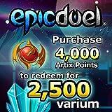2,500 Varium Package: EpicDuel [Instant