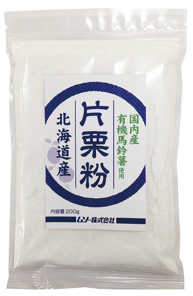 ムソー 国内産 有機片栗粉