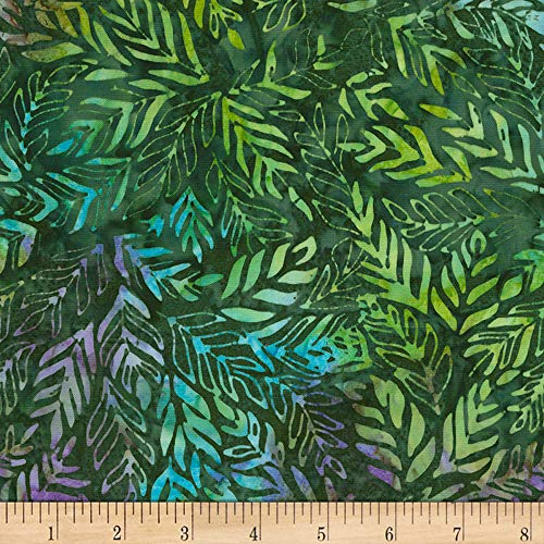 Timeless Treasures Tonga Batik Runaway Outback Rainforest, Fabric by the Yard ()