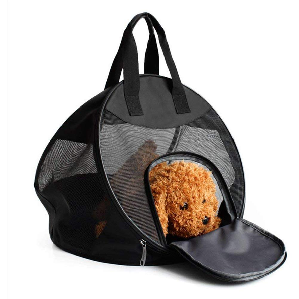 ASOCEA Portable Pet Handbag Foldable Car Travel Cat Carrier with Sponge Pad for Small Dogs Cats Kitten Puppy