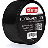 X Fasten Floor Marking Vinyl Tape, 2 Inches x 36 Yards 6 Mils Thick, Concrete Industrial Marking Tape for Industrial…