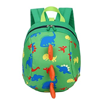DafenQ Cute 3D Cartoon Baby Toddlers Backpack Nursery Kindergarten Book Bag  Kids Harness Bag with Safety 15fd6dcf3ba36