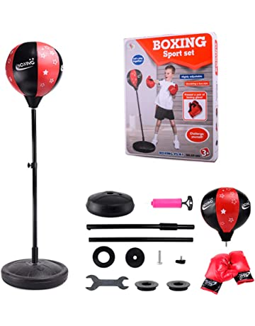 Haplws Kids//Adults Boxing Gloves Punching Bag Mitts Training Gloves for Punching Sparring Kickboxing Muay Thai Training Gloves