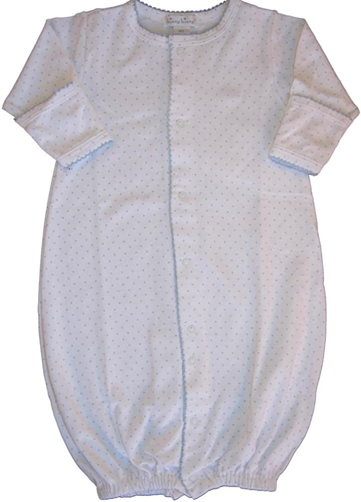 Kissy Kissy Baby Dots Convertible Gown