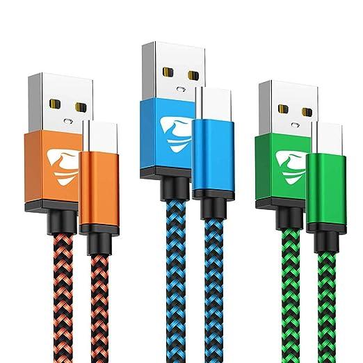 Usb C Kabel Fast Ladekabel Typ C Aioneus 3pack 2m Elektronik