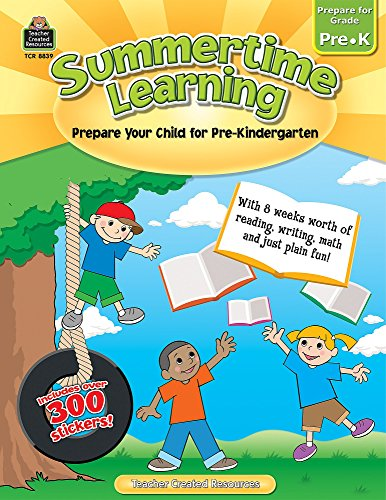 Summertime Learning PreK